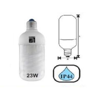 Bec Economic Pentru Exterior E27 23w Lumina Calda Adeleq 00-719/cald