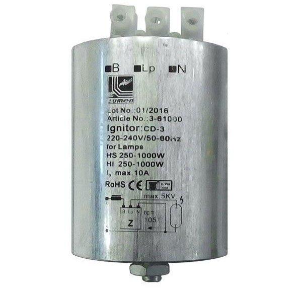 Igniter becuri sodiu si hqi 250W - 1000W Adeleq 00-821