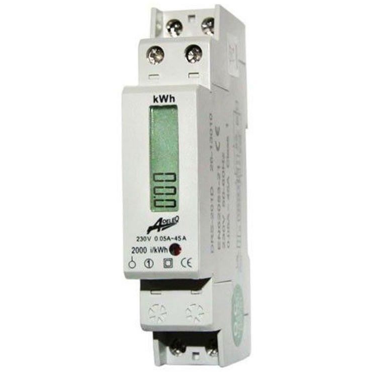 Contor monofazic digital 45A 1M Adeleq 02-553/DIG