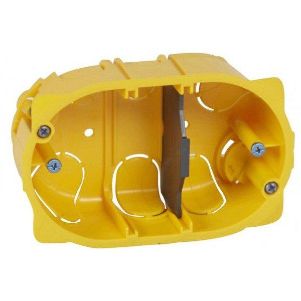 Doza rigips 3 module Legrand Batibox 080049