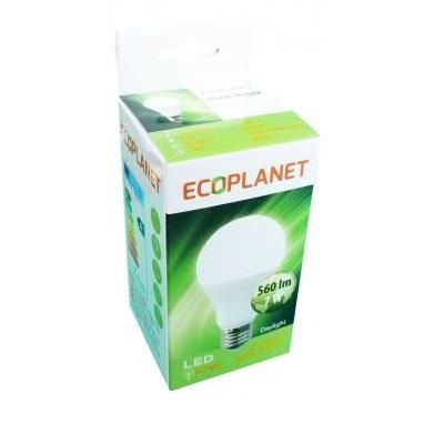 Bec cu LED Ecoplanet A60 7W E27 2700K lumina calda