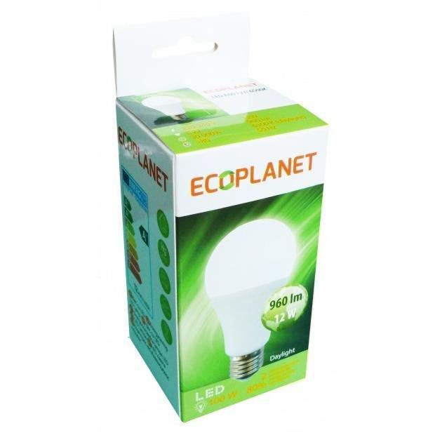 Bec cu LED Ecoplanet A60 12W E27 6500K lumina rece