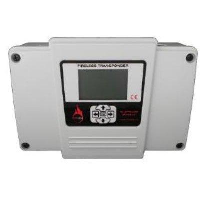 Transponder Wireless Fireless 1123-lcd Addr Cu Display Lcd Pentru Centrale Adresabile