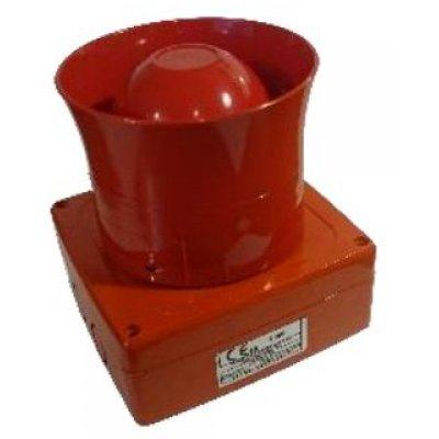 Sirena Wireless 1124-WSO de culoare rosie fara flash