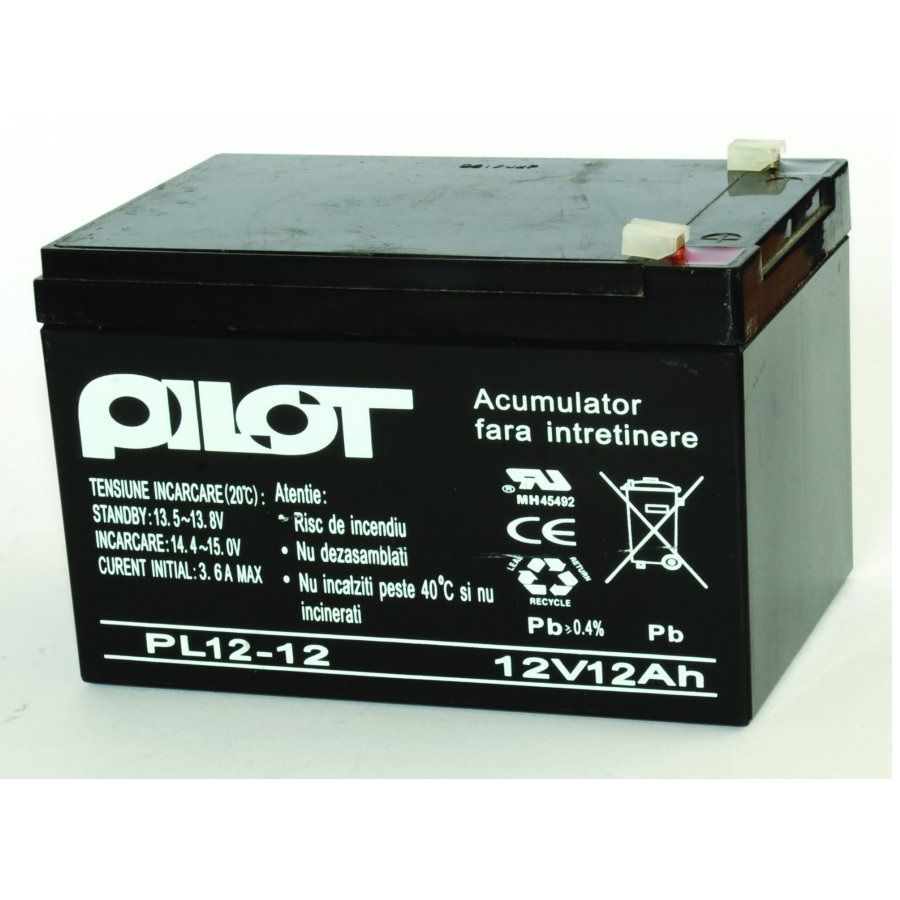 Acumulator Pilot 12V PL-12 AH