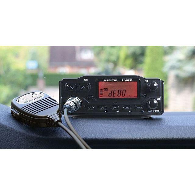 Statie Radio Cb Albrecht Ae 6790 Cod 12679 Cu Pano