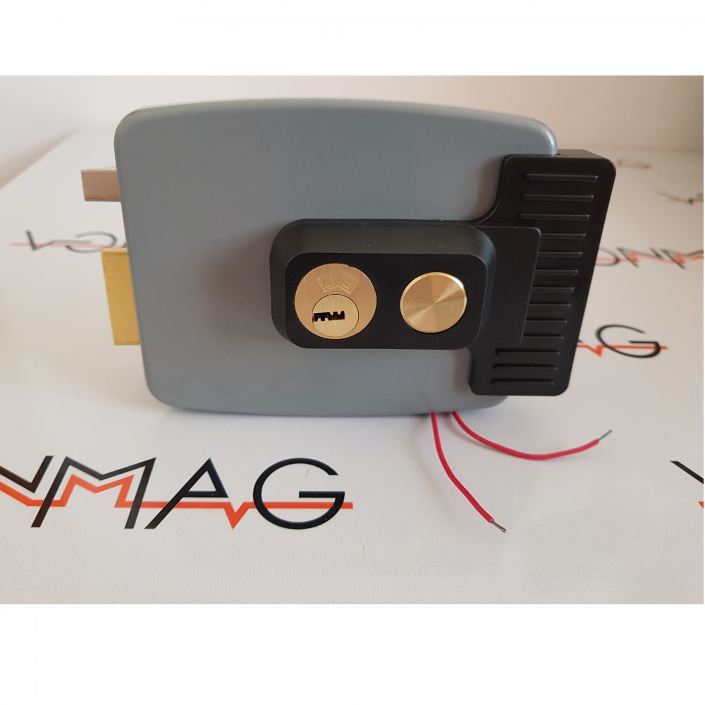 Yala Electromagnetica Aplicata Completa (butuc 3 Chei) Nadal-badal 1913st Pe Stanga