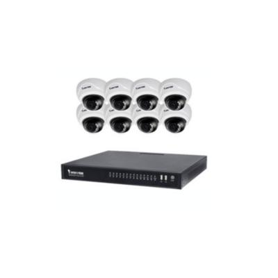 Kit Video Format Din Dvr Vivotek Nd8422p Si 8 Came