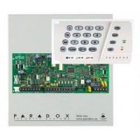 Kit alarma Paradox SP4000 cu tastatura K636 si 2 detectori 476+