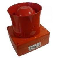 Sirena Wireless 1124-WSO de culoare rosie, fara flash