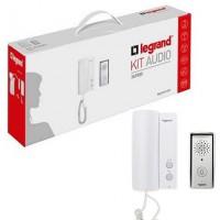 Kit interfon audio Legrand 369500, pentru o familie