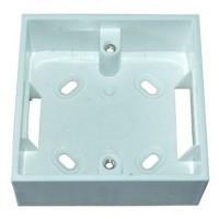 Cutie plastic alb BOX-01