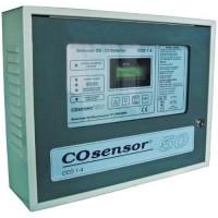 Centrala monoxid de carbon Cofem CCO1-4, 2 zone, Dubla ventilatie si iesire baterii CCO222DVB