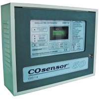 Centrala monoxid de carbon Cofem CCO1-4, 3 zone, Dubla ventilatie si iesire baterii CCO322DVB