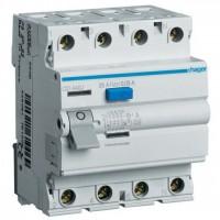 Intreruptor diferential 4P 40A, 30mA, AC Hager CD441J