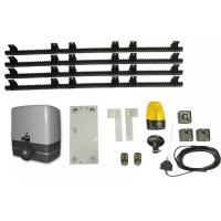 Kit automatizare pentru porti culisante cu cremaliera 4M inclusa GPA CULIS 1000