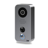 Post videointerfon IP DoorBird D101S de exterior standalone, WiFi, IP65, PIR pana la 8m, audio bidirectional