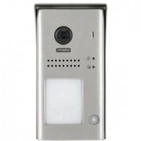 Panou video color DT607-ID-S1 de exterior, cu conexiune pe 2 fire, camera WIDE ANGLE 170 , pentru un abonat, control acces RFID