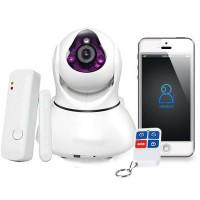 Camera IP wireless cu alarma AMATEK eRobot Pro