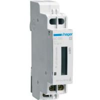 Contor monofazat 32A 1M Hager EC050
