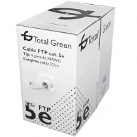 Cablu FTP CAT5E Total Green rola 305M