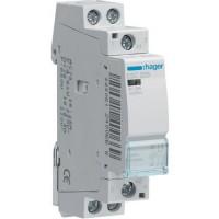 Contactor, 25A, 2ND, 230V Hager ESC225