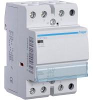 Contactor, 63A, 3ND, 230V Hager ESC363