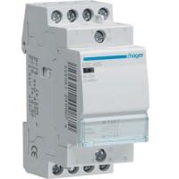 Contactor, 25A, 4ND, 230V Hager ESC425