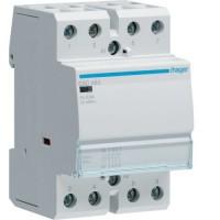 Contactor 63A, 4ND, 230V Hager ESC463