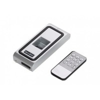 Controler de acces biometric F2-EM pentru o usa, functioneaza cu amprenta sau cartele de proximitate EM 125KHz