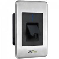 Cititor de amprente si cartele ZKTeco FPR-1500WP pentru centralele de control acces biometrice, montare incastrata, rezistent la apa