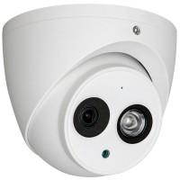 Camera HDCVI Dahua HAC-HDW1200EM-A dome de exterior cu microfon incorporat, 1080p, IR 50m, lentila 2.8mm