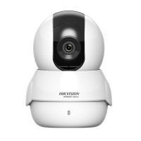 Camera IP Wi-Fi Hikvision HiWatch HWC-P120-D/W, 2 MP, lentila 2.8mm, IR 5m, microfon, difuzor, micro SD 128GB