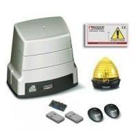 Kit automatizare poarta culisanta Roger Brushless BH30/805 ultilizare intensiva, limitator mecanic, 1000kg greutate maxima