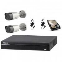 Sistem de supraveghere video Dahua Kit HDCVI ITP