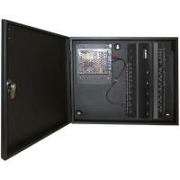 Centrala de control acces biometrica IP pentru 4 usi bidirectionale ZKAccess KIT-IN460 + cutie cu sursa de alimentare
