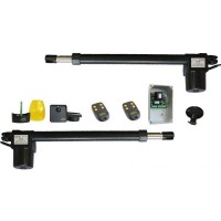 Kit automatizare pentru porti batante, cursa 400 mm, 1400 rpm - 250 kg GPA KGP 42/14