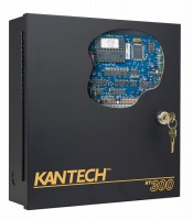 Centrala control acces Kantech KT300 , 1 usa bidirectionala/2 usi unidirectionale, 2 cititoare, port RS232, RS485
