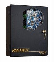 Centrala control acces Kantech KT400: 4 usi unidirectionale/2 usi bidirectionale, multiple IN/OUT, 4 iesiri releu