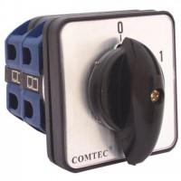 Comutator cu came 0-1 3P 2 etaje 25A Comtec MF0002-11330
