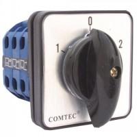 Comutator cu came 1-0-2 3P 3 etaje 32A Comtec MF0002-11740