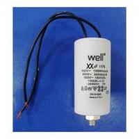Condensator pornire motor 400V 50uF cu fir Well MOTCAP-50UF-WR-WL