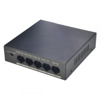 Switch 4 porturi POE Dahua PFS3005-4P-58 transmisie 250m, protectie fulgere, putere 58W