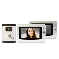 Interfon video cu 2 monitoare model PNI DF-926-2 cu ecran LCD de 7 inch PNI-DF-926-2