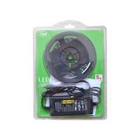 Banda LED PNI D-Light 60LED flexibila de interior 5m alb rece 60 leduri/m include alimentator 12V PNI-DL60W