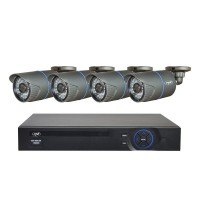 Kit supraveghere video PNI House IPMAX POE ONE 720P - NVR IP ONVIF si 4 camere HD cu IP 1.0 Mpx Powe