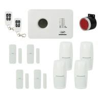 Kit sistem de alarma wireless PNI SafeHouse PG300 comunicator GSM si 6 senzori suplimentari PNI-PG300K6