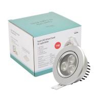 Spot LED SilverCloud D-Light 8545 argintiu de interior 7W orientabil 45 4000K alb neutru PNI-SC-D3002N