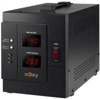 AVR nJoy Akin 3000, 3000VA/2400W, cu releu, LCD Display, functie de intarziere la pornire, functie de selectie a tensiunii, PWAV-30002AK-AZ01B