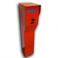 Dispozitiv stand-alone/retea de eliberare a cardului de parcare SECPRAL SEKA P-IN